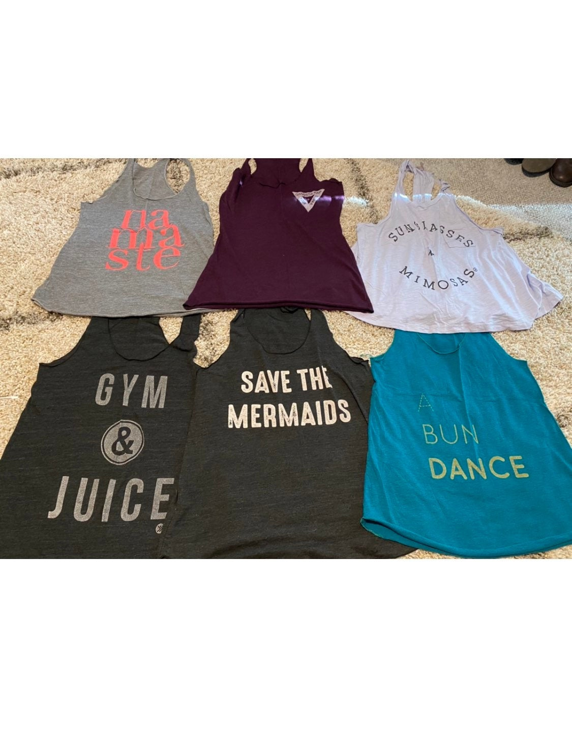 American Apparel (&other) workout Tanks