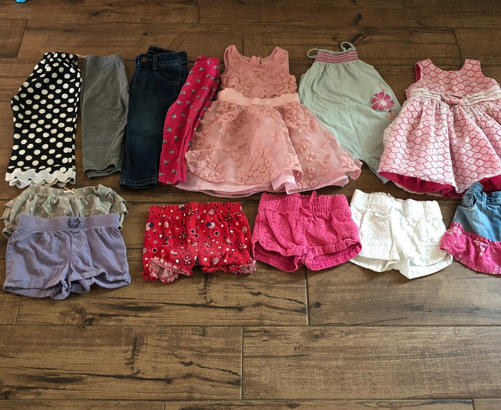 18 Month Baby Girl Clothing Lot