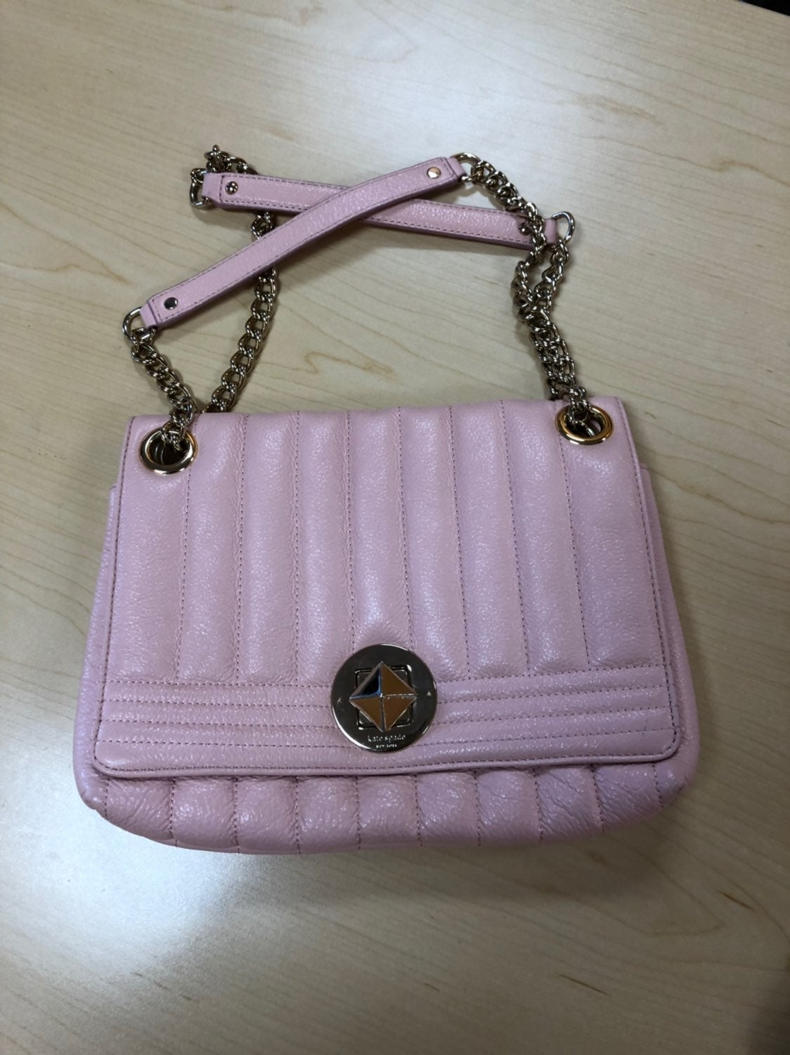 Kate Spade Pink Quilted Bag