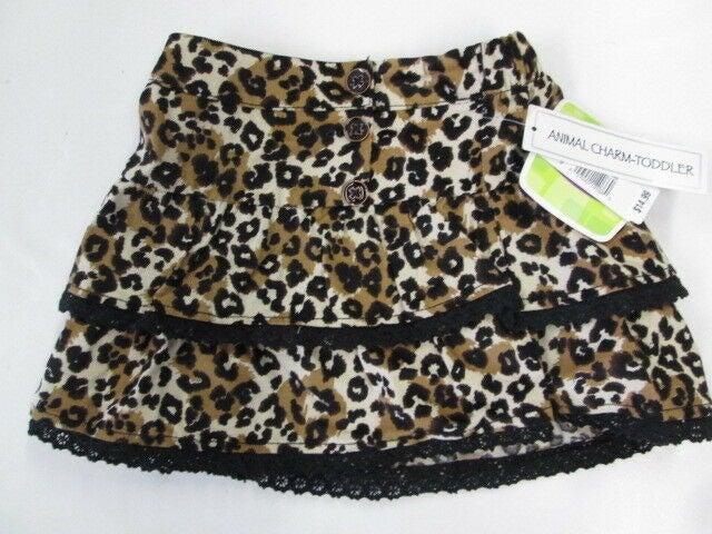 Kids R Us Animal Charm Leopard skirt NEW