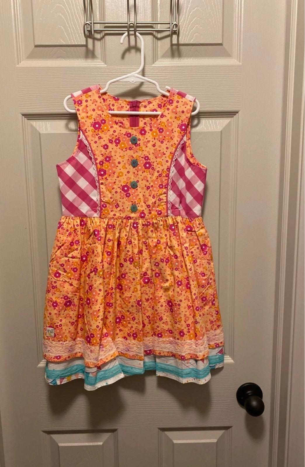 Wildflower Dress Girls Size 8 NWT