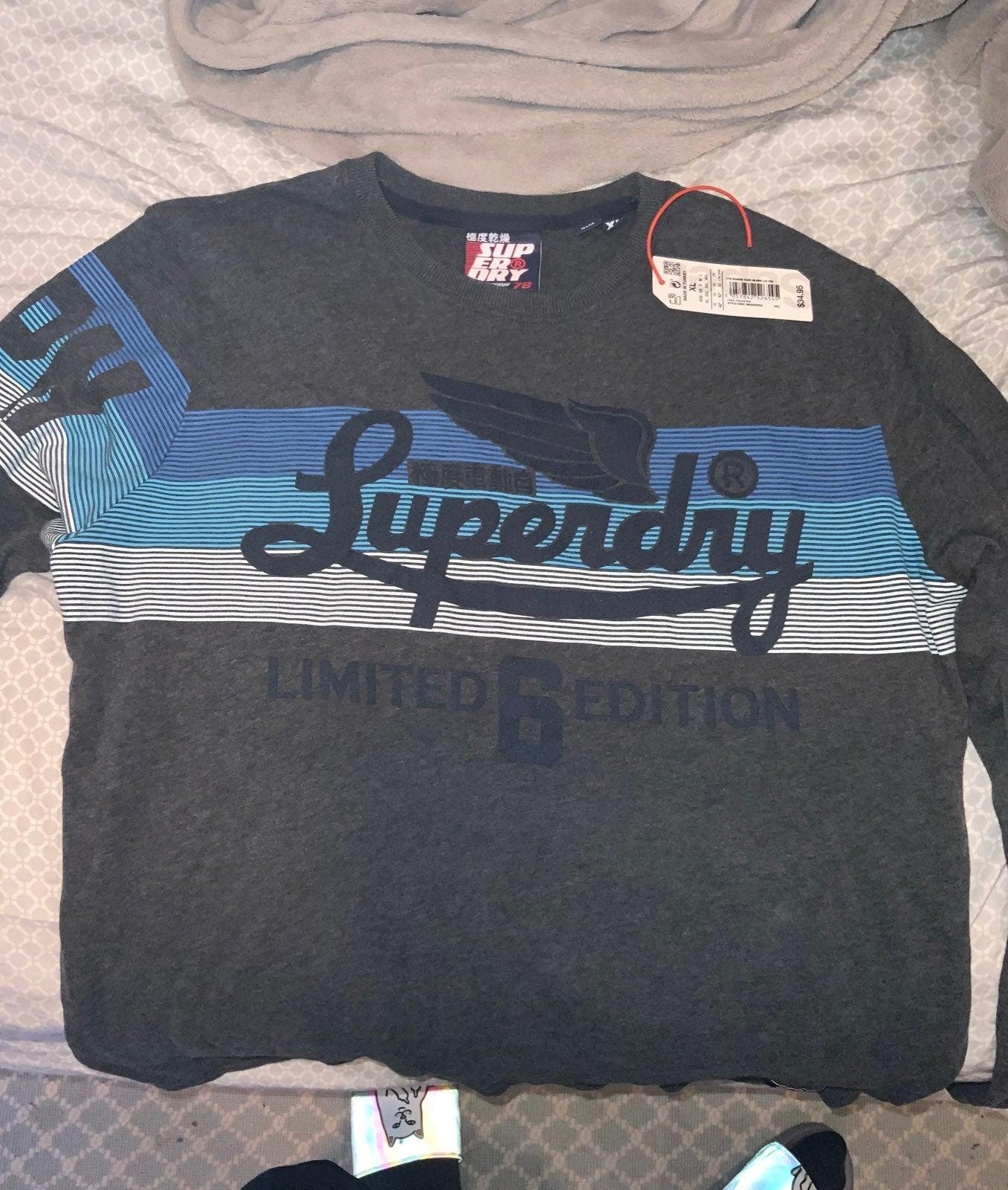 Superdry longsleeve knit shirt
