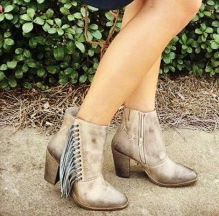 Diba true leather boots