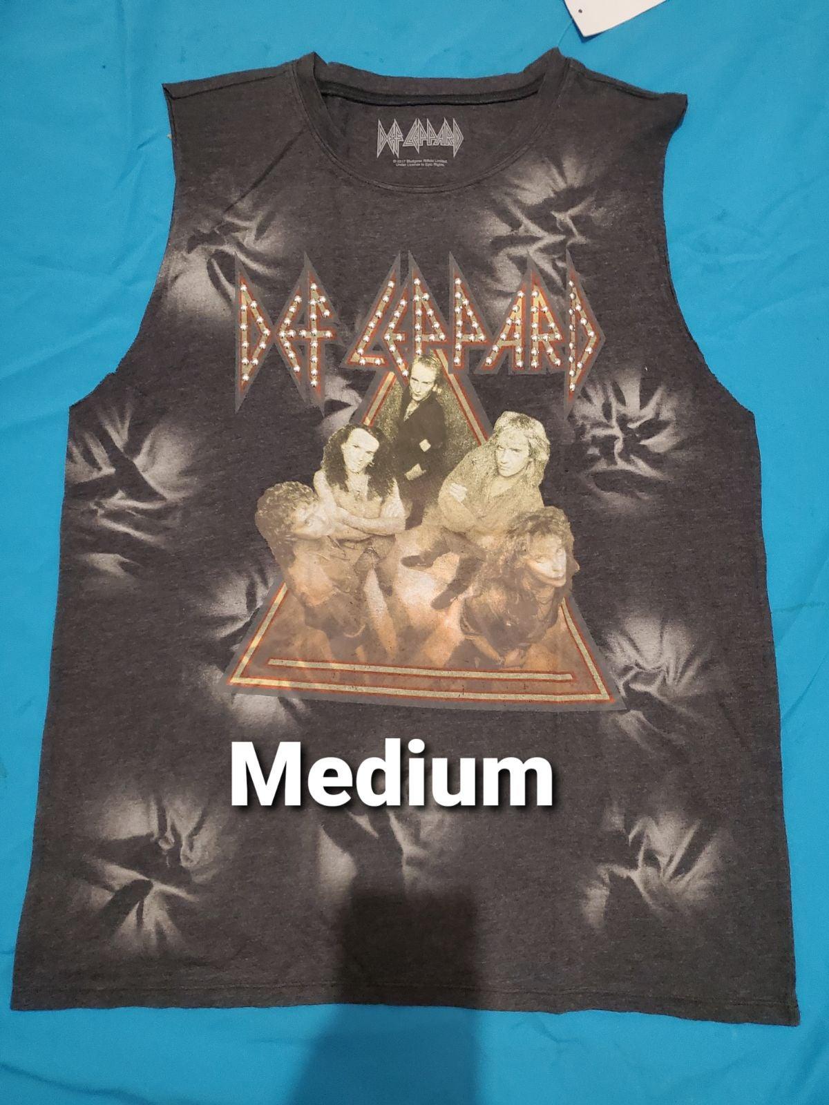 Def Leppard sleeveless shirt