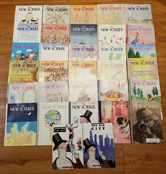 Lot 32 The New Yorker Magazines