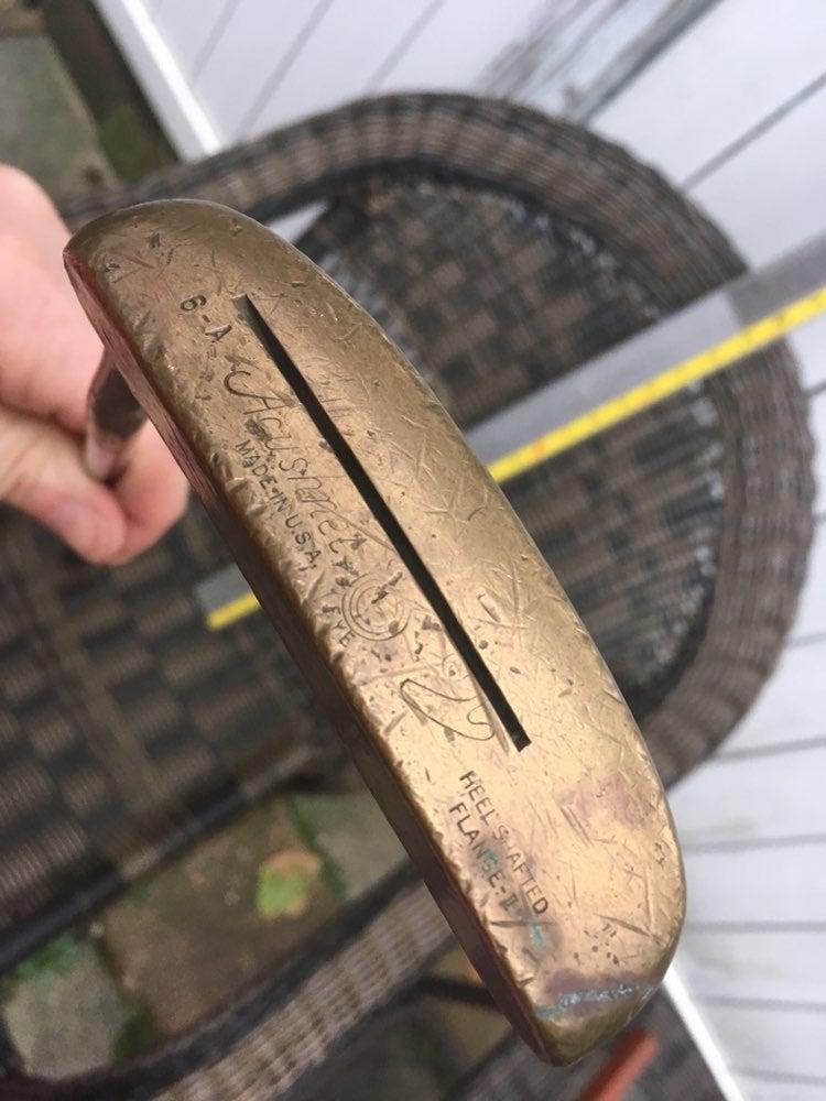 Bullseye acushnet titleist heel shafted