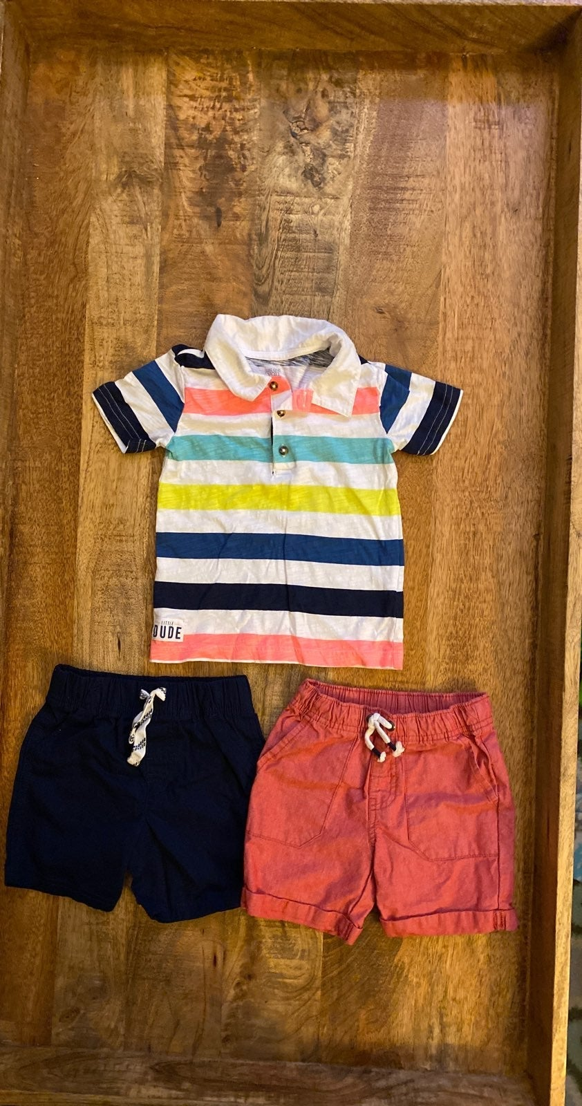 2T Cat & Jack Carter's Outfit NWOT