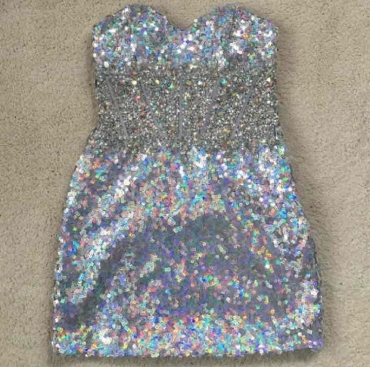 WORN ONCE. Homecoming Dress.