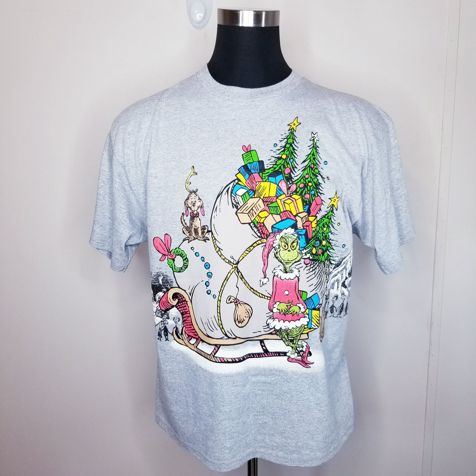 Vintage 2001 Dr. Suess Grinch T Shirt