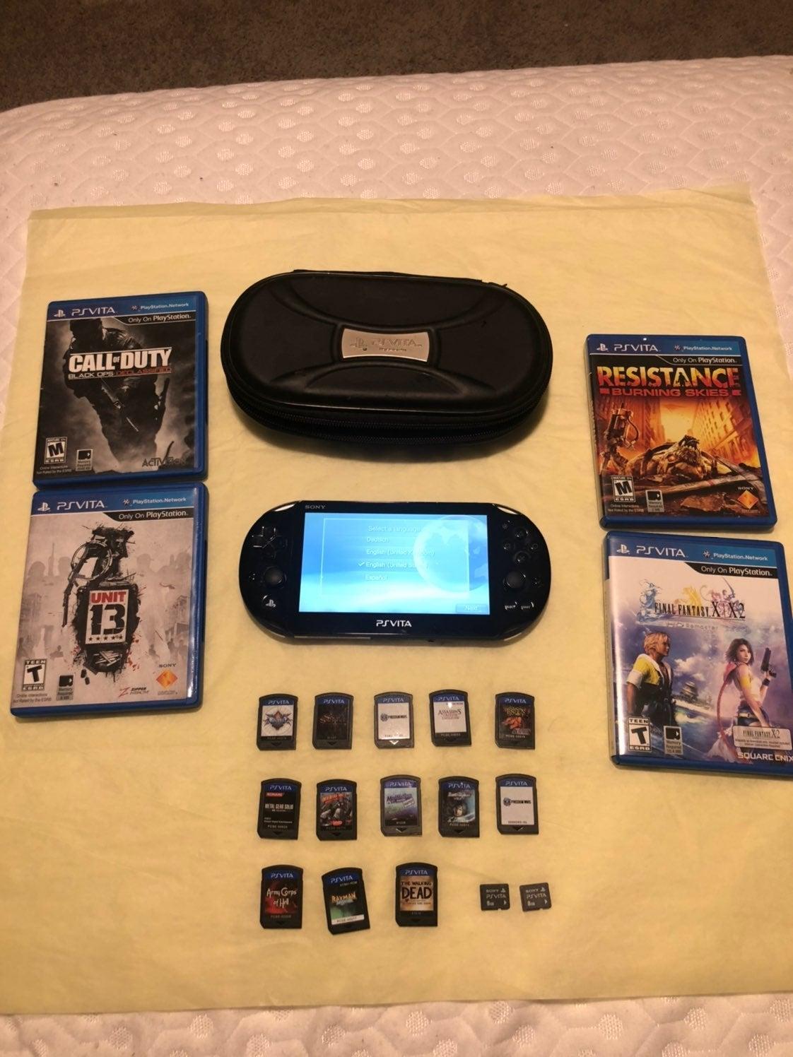 PS Vita 2001 & Game Bundle