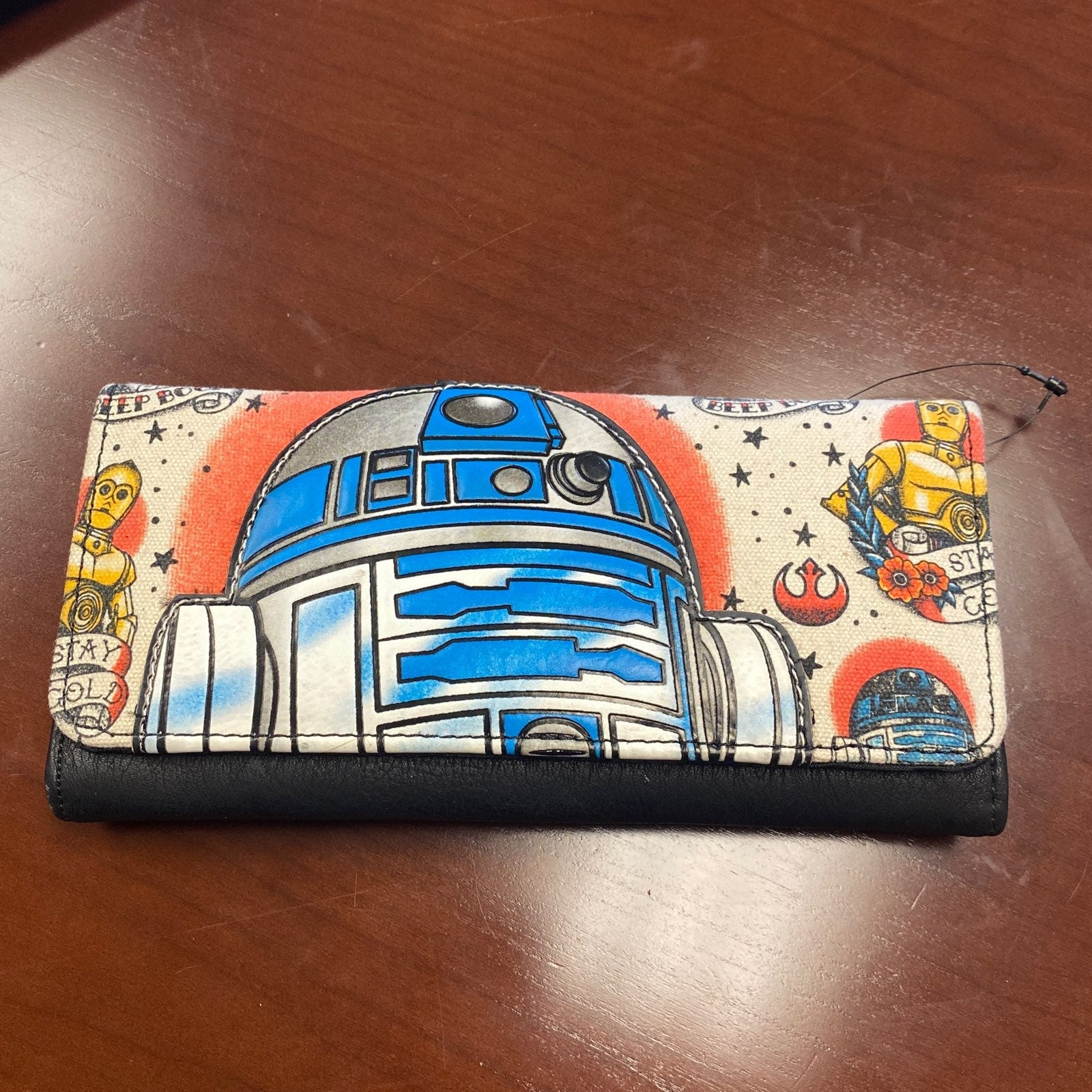 Loungefly Star Wars Tattoo R2D2 Wallet