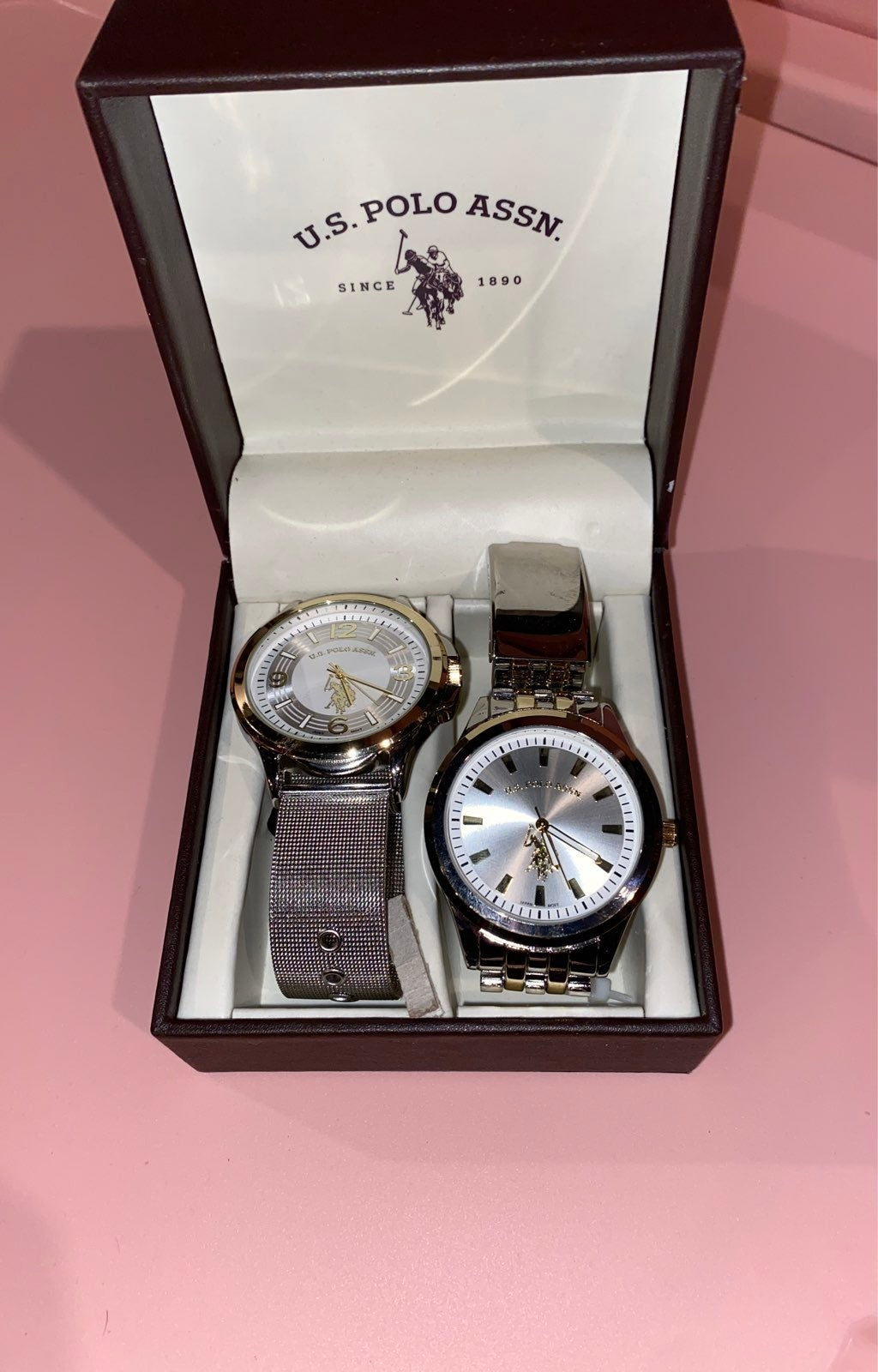 U.S. Polo Assn. Watch Set