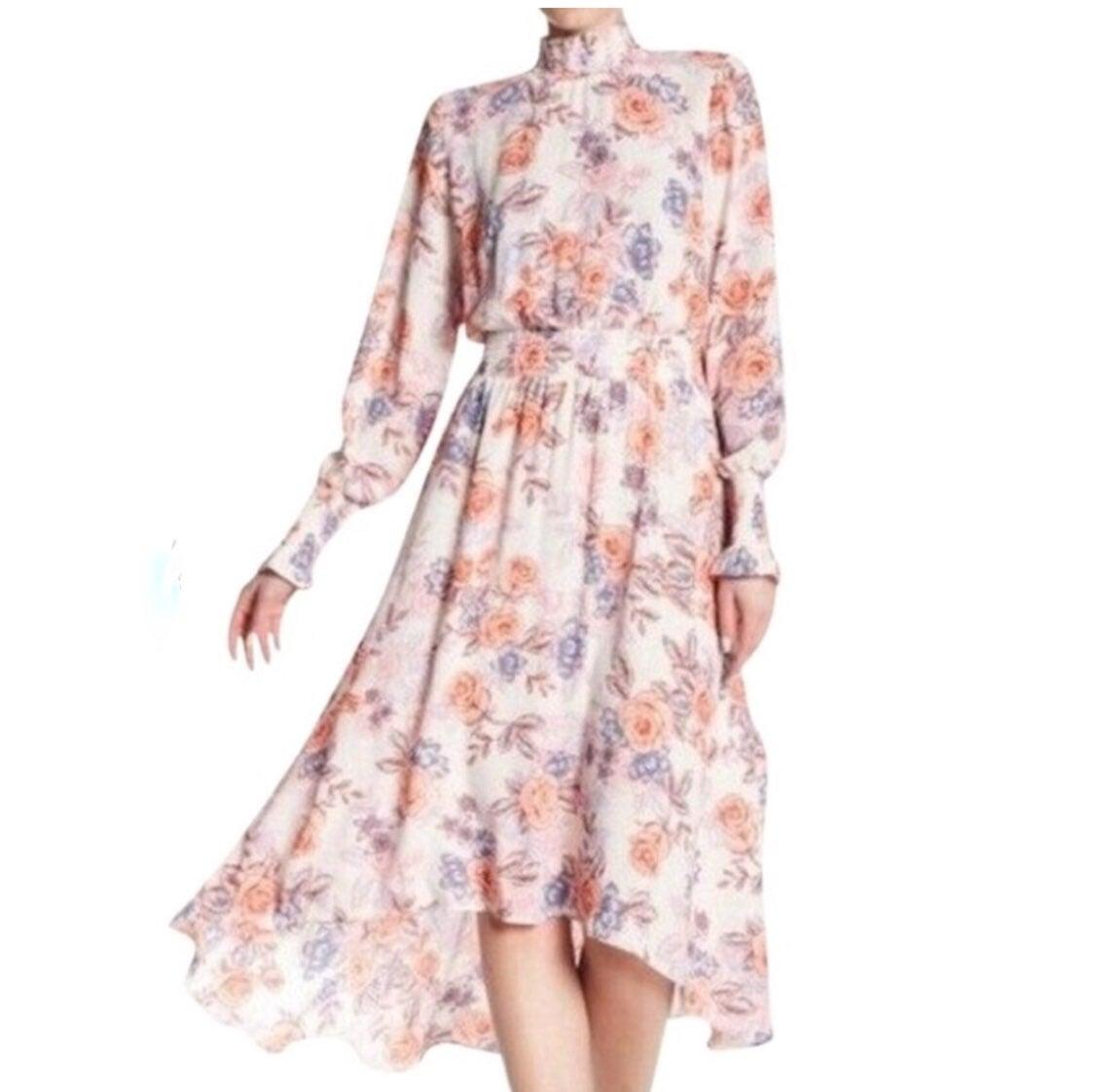 Nanette Spring Bloom  Dress Size 14 EUC