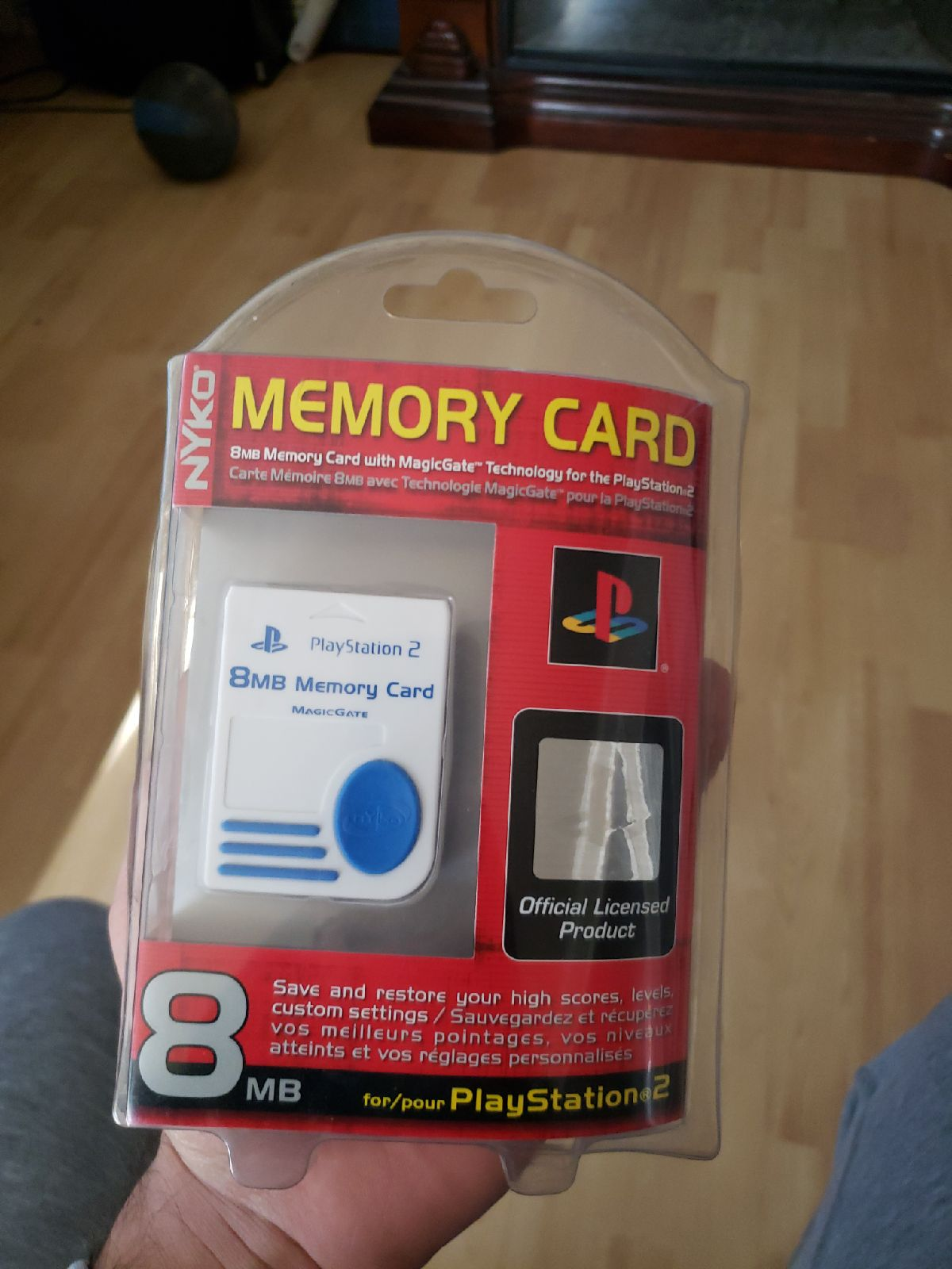 NYKO Play station 2 memory card Brand Ne