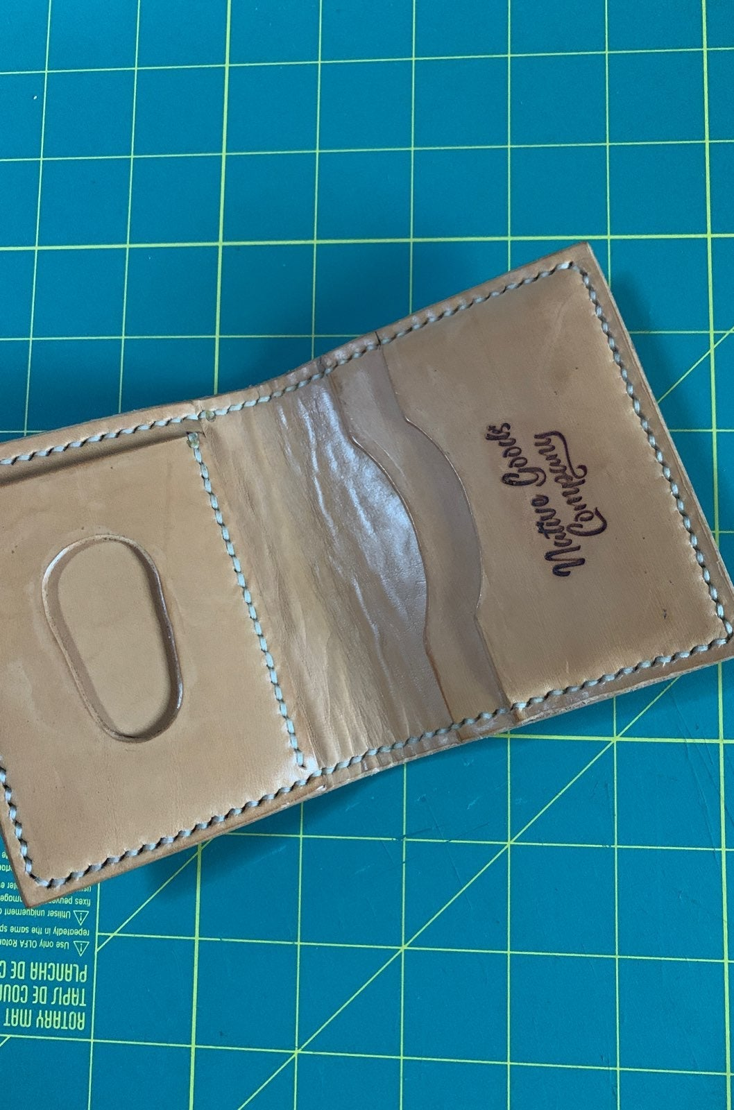 Native Goods Co. Leather wallet
