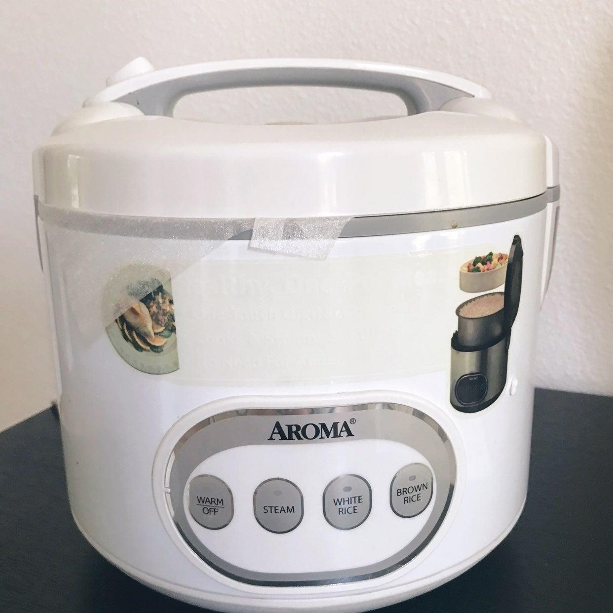 Aroma rice cooker vegie Steamer 16 cups