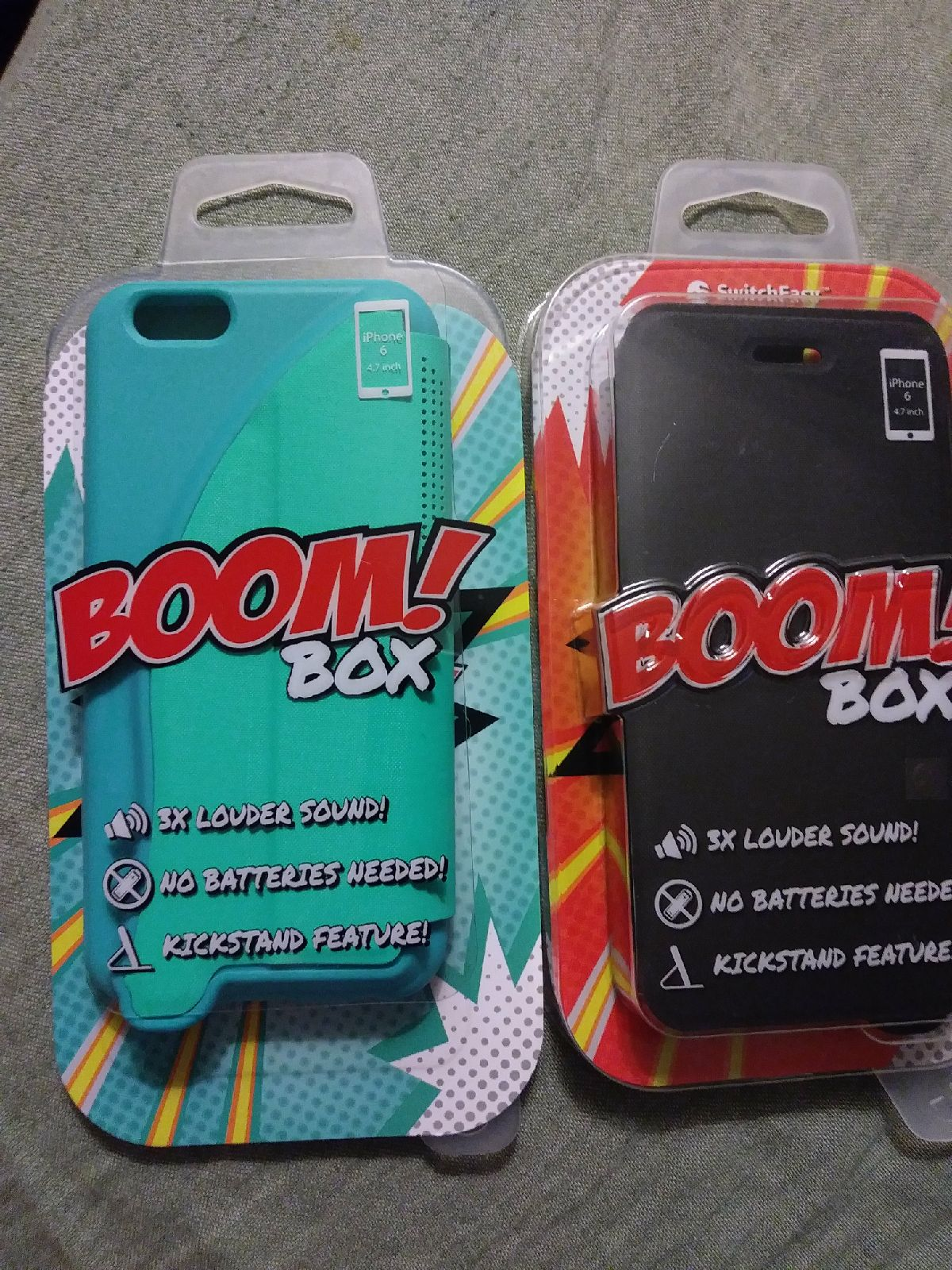 2 cases iphone 6/6S Boom box