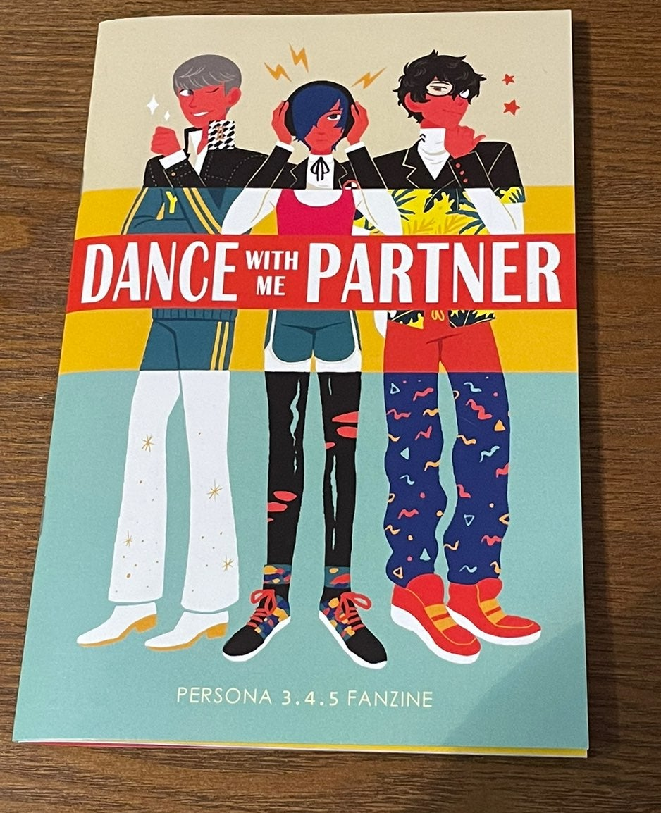 Persona Fan Book Dance With Me!