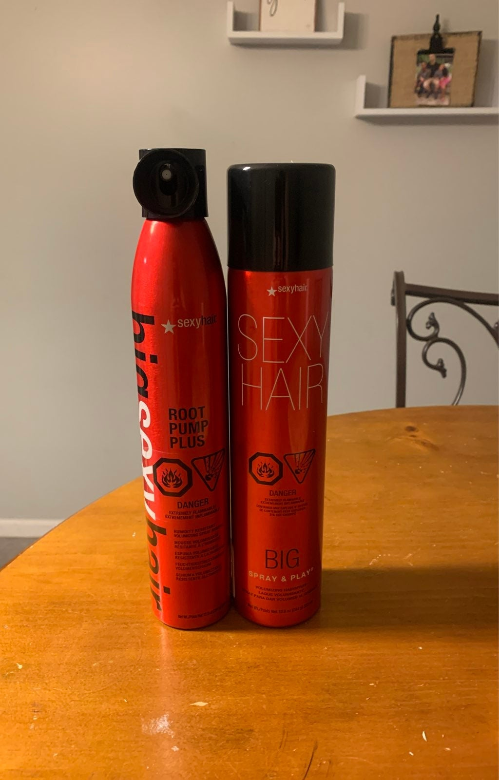 Sexy hair hairspray & mousse