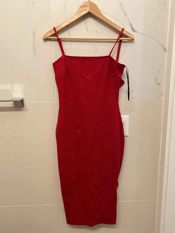 Lulus Red Dress Size XS