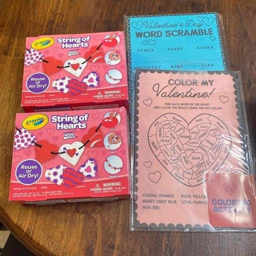 valentines day activity lot