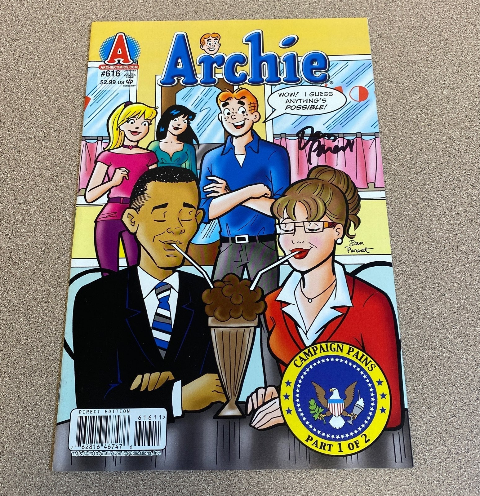 Archie 616 signed