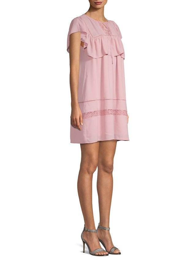 rebecca minkoff Pink Silk Dress