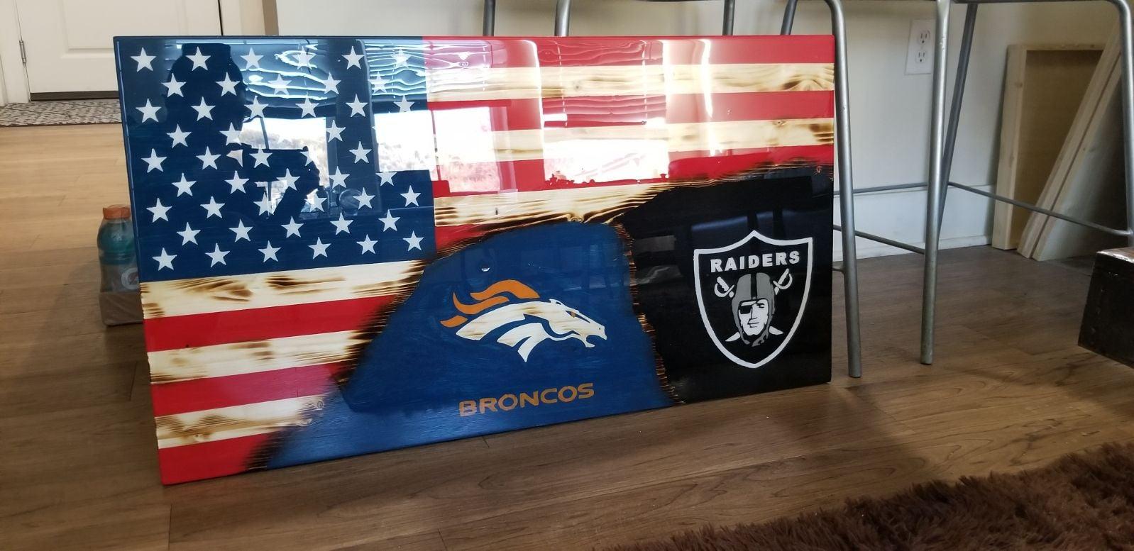 36 x 20 custom team flag