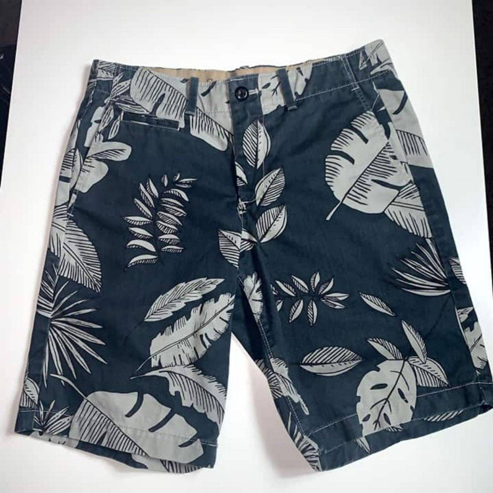 GAP Gray tropical The Lived In Shorts