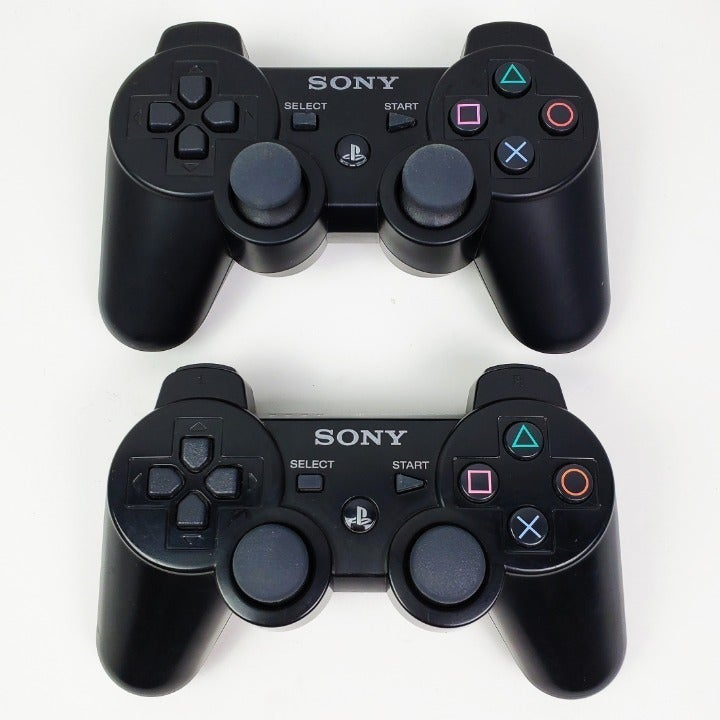 Sony PlayStation 3 DualShock Controllers