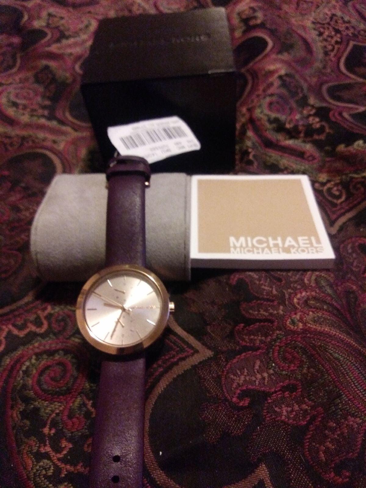 Michael Kors Watch Mk 2573 Watch Purple