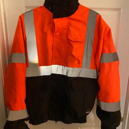 Craftsman Orange Reflector Jacket coat