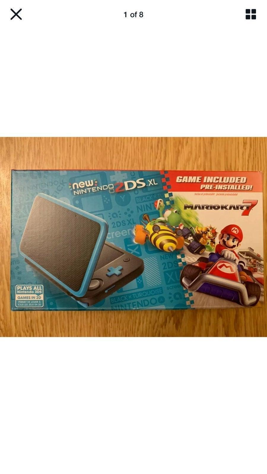 NEW Nintendo 2DS XL Console Mario Kart