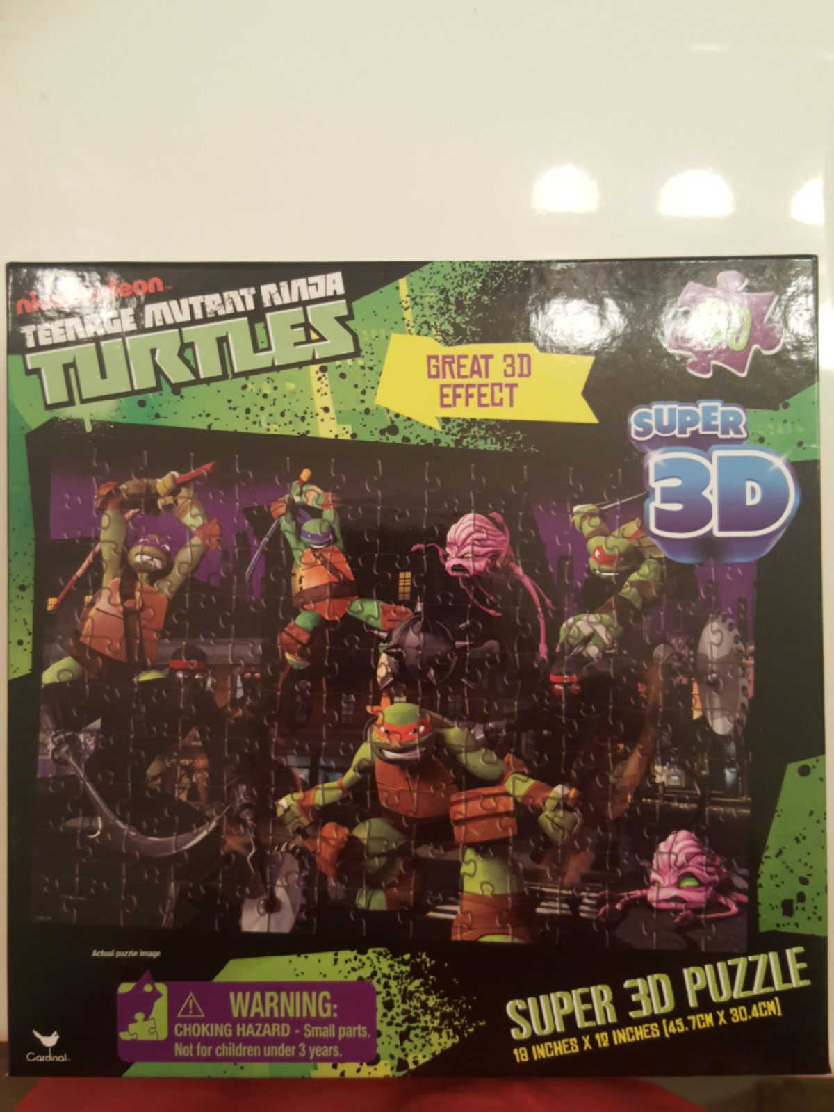 Super 3D Puzzle Ninja Turtles
