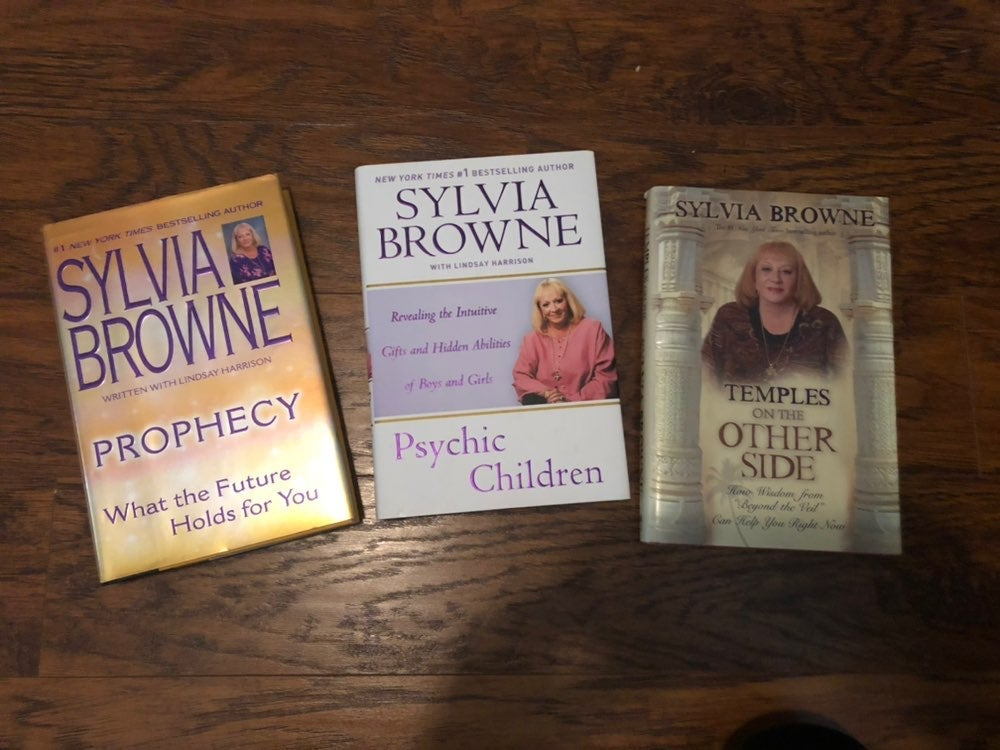Sylvia brown books