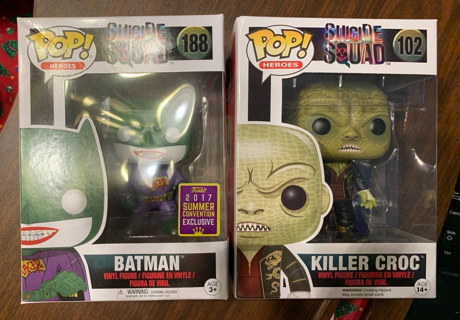 Batman as Joker SDCC Funko Pop Killer Cr