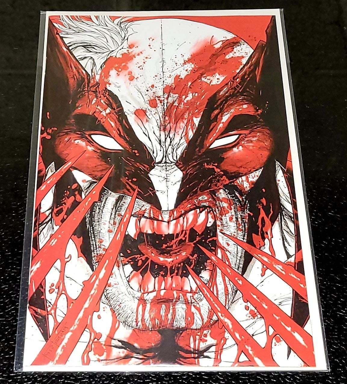 Wolverine: Black,White & Blood #1 Virgin