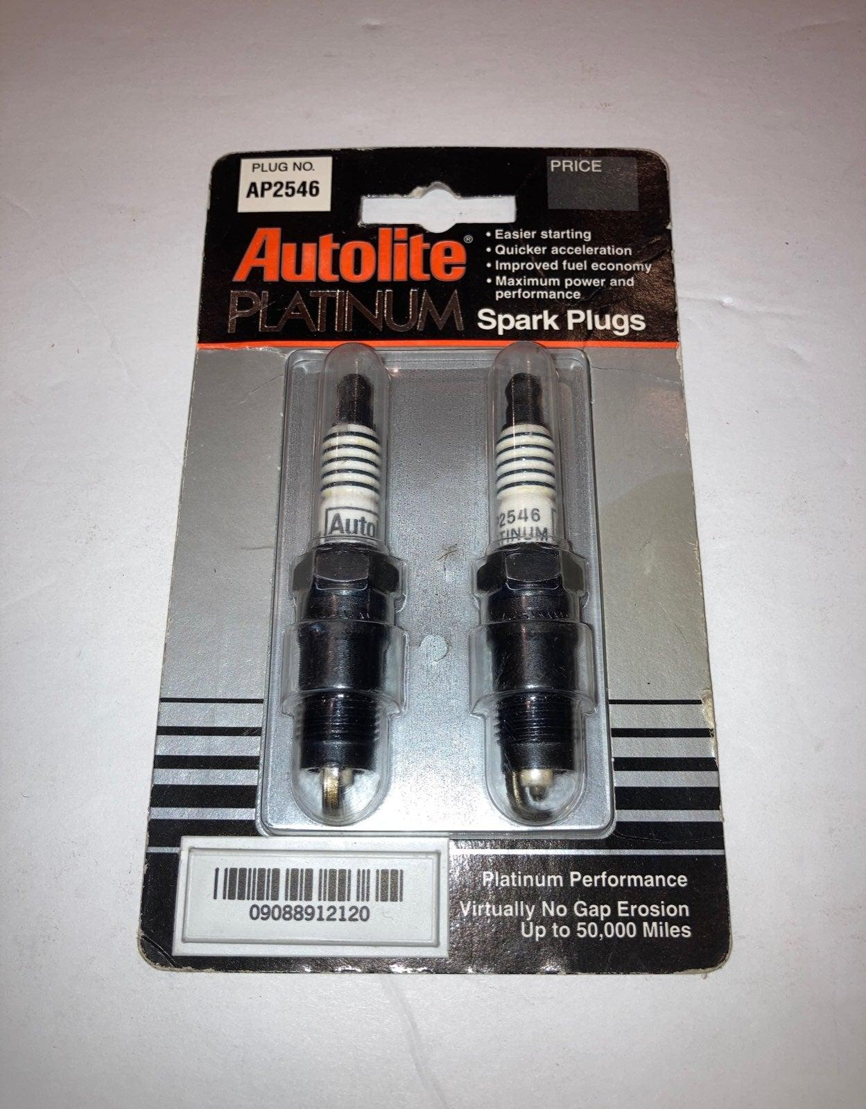 2pk Autolite Platinum Spark Plugs AP2546