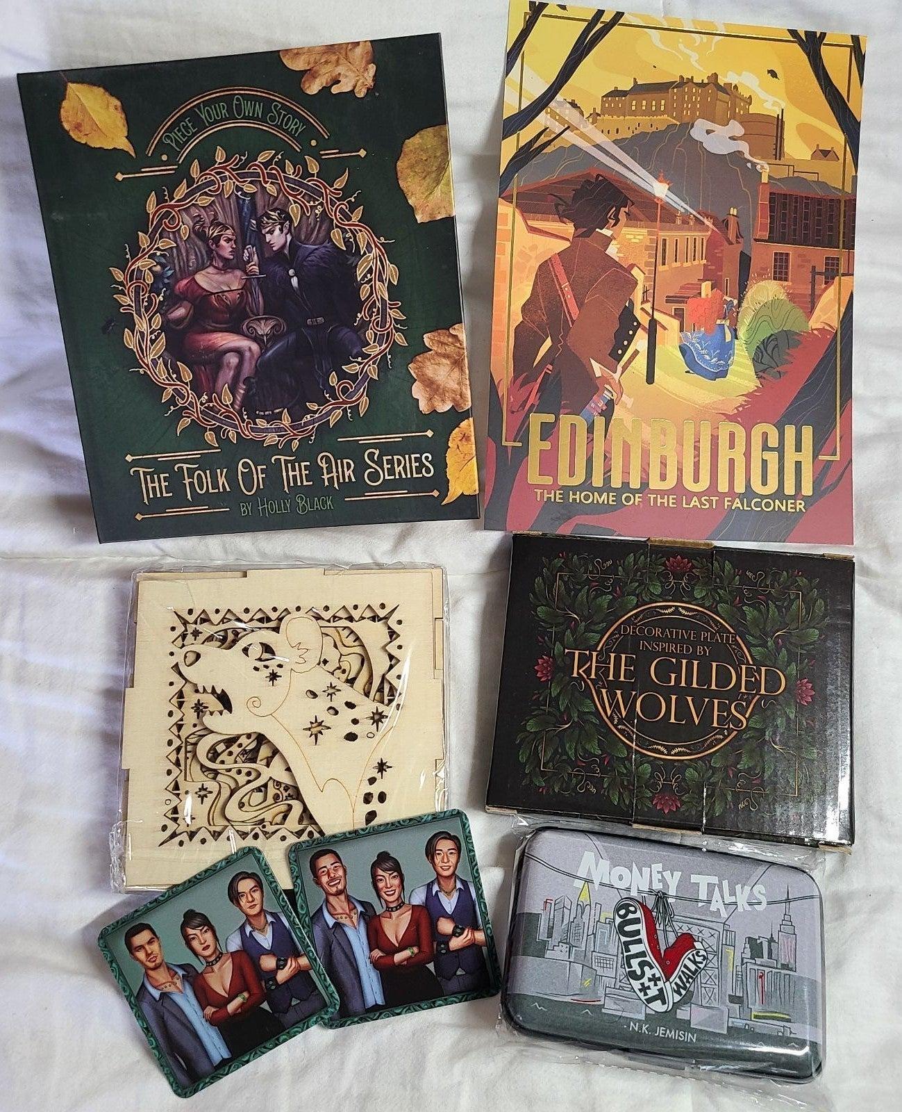 Illumicrate Book Box Items