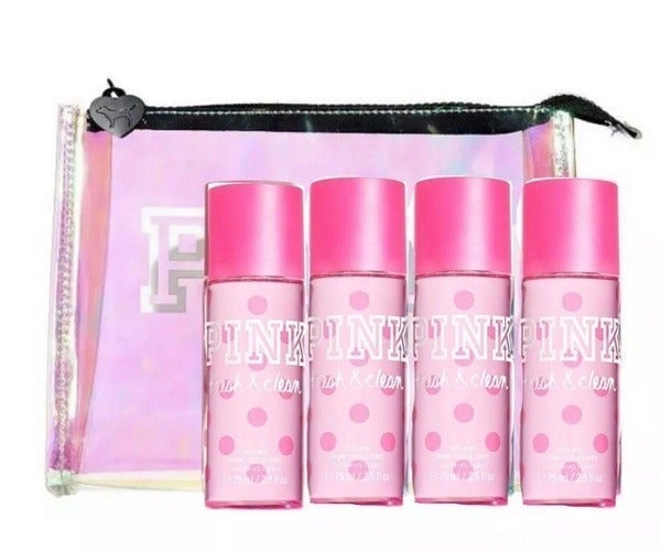 Victoria's Secret Pink Fresh & clean gif