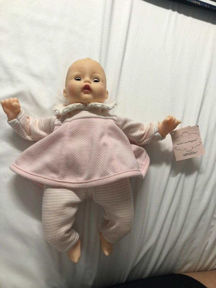 Huggums baby doll madame alexander