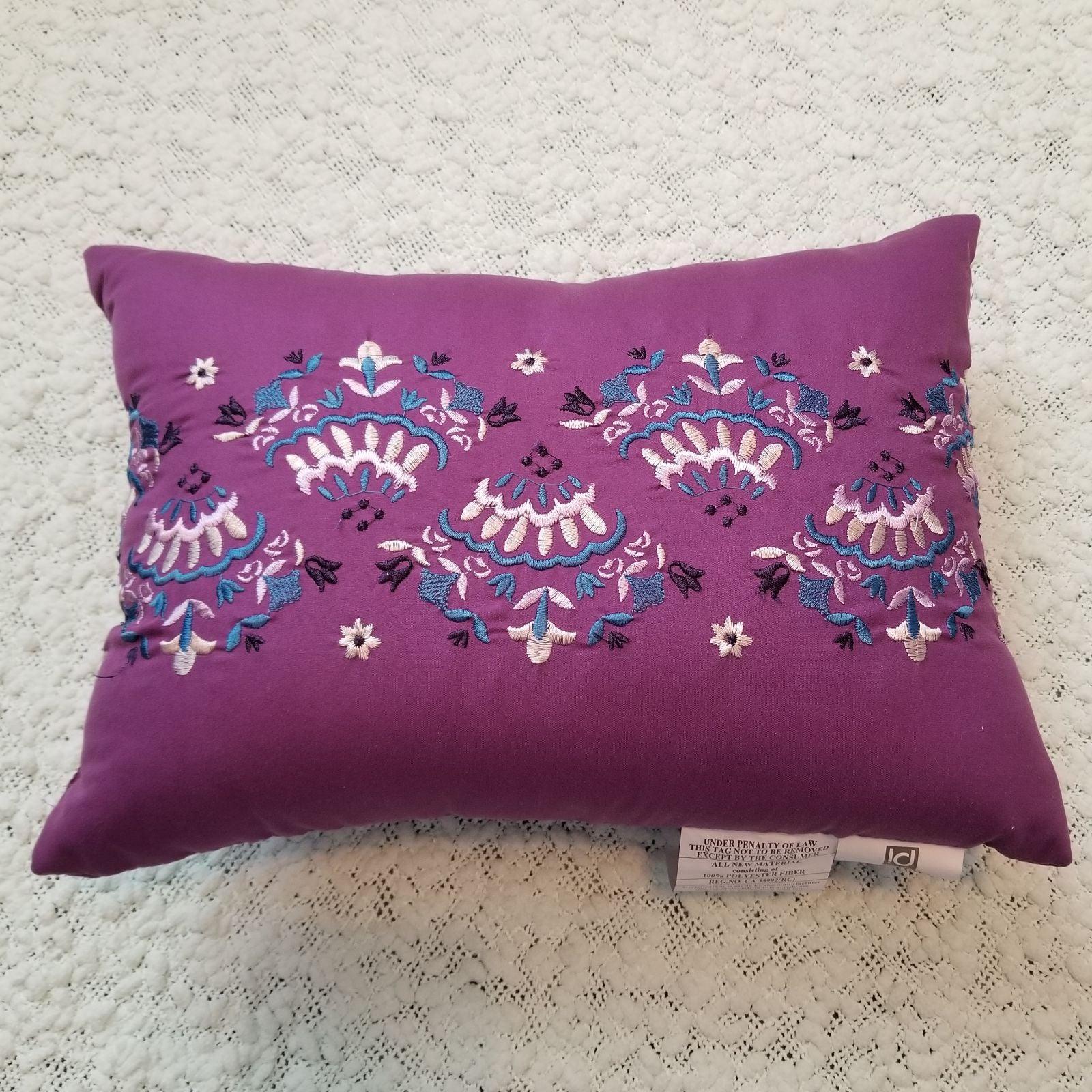 Purple Decorative Pillow