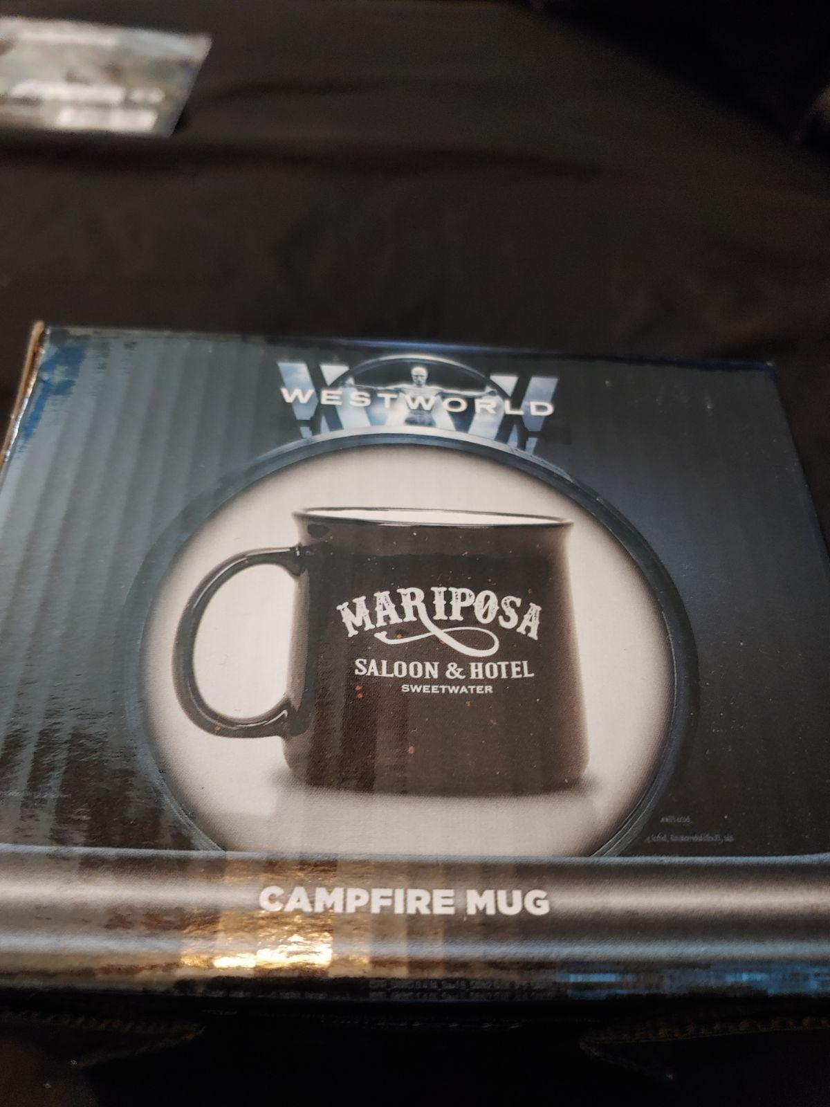 Loot Crate Westworld Mariposa Mug MIB