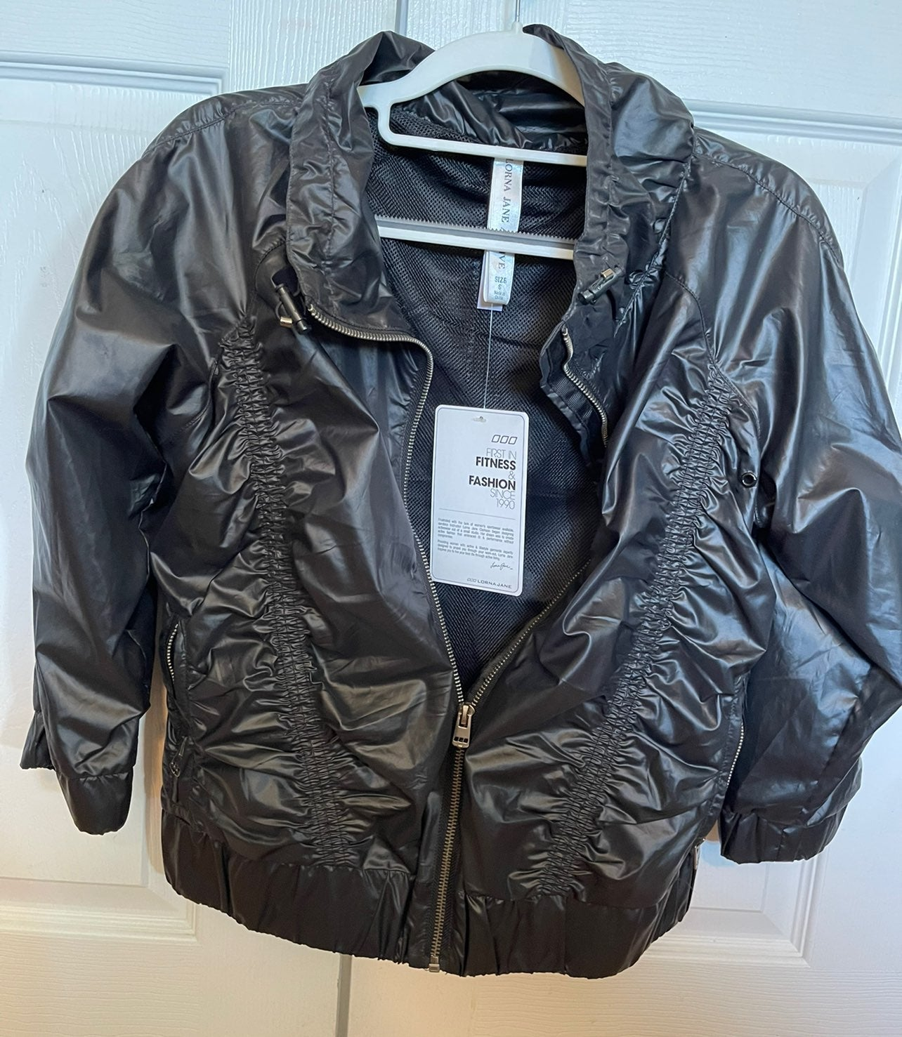 New lora jane 3/4 sleeve black Jacket