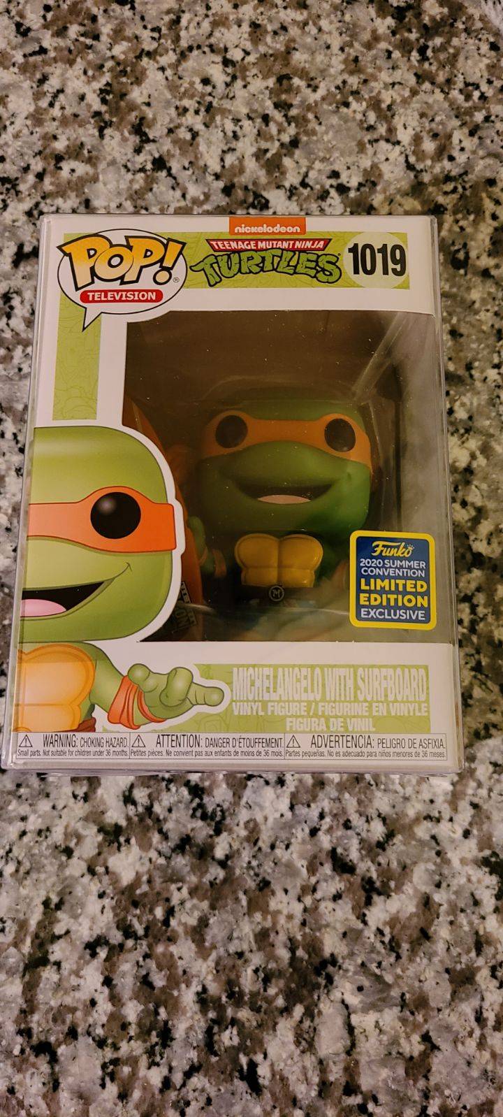 Funko Pop Michelangelo SDCC 2020