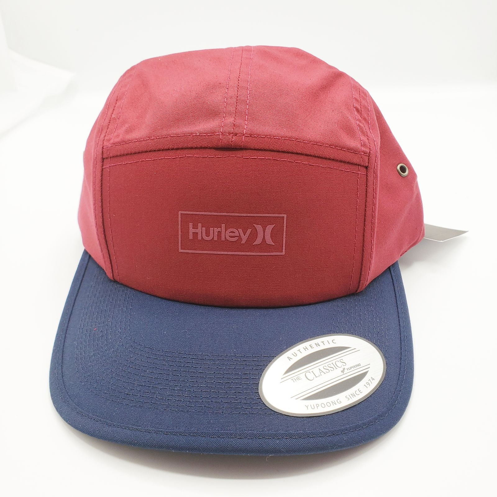 HURLEY Maritime Baseball Cap Hat Red