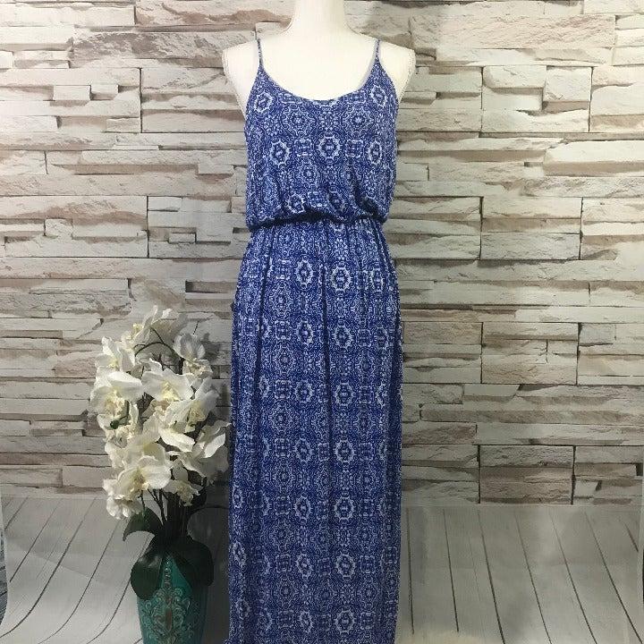 Lush Maxi Dress Sz M (A12)