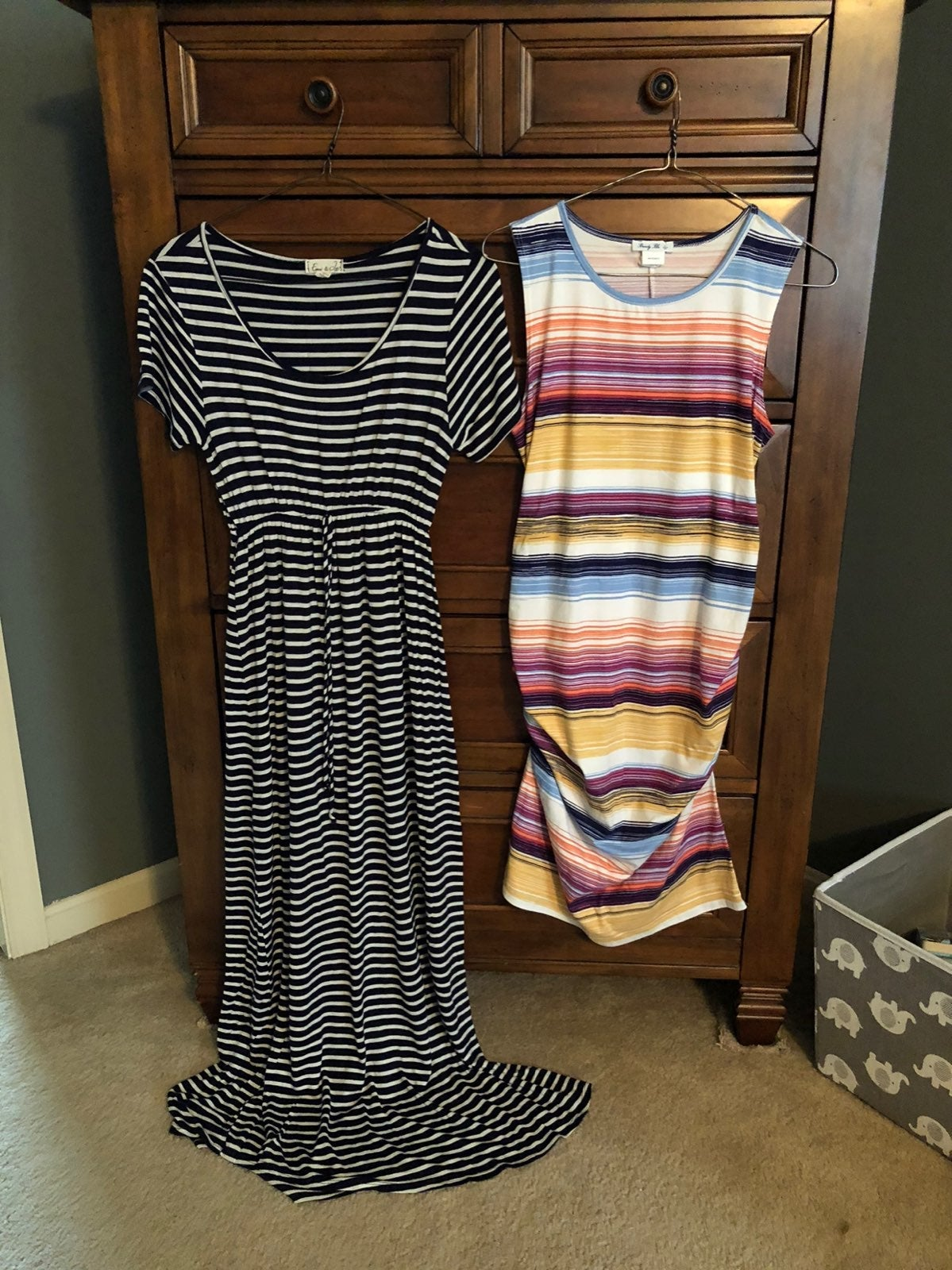 2 Maternity dresses