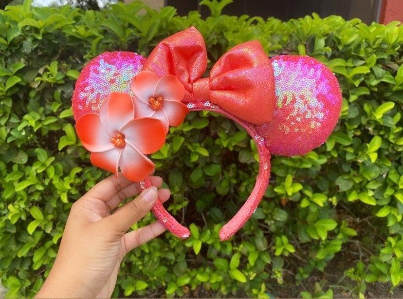 Disney Ariel's Grotto Coral Aulani Ears
