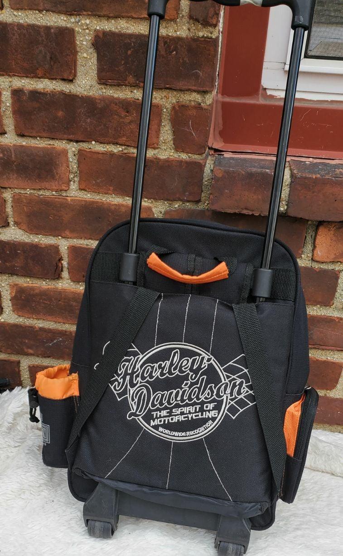 Harley Davidson rolling travel bag